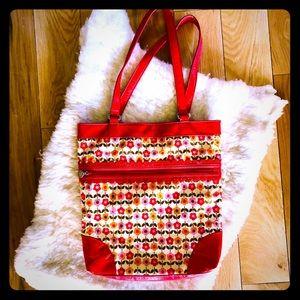 Vera Bradley Frill Collection Tote Bag Purse